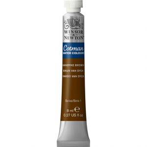 สีนํ้า COTMAN (WINSOR & NEWTON) 21 ML.#676 Vandyke Brown